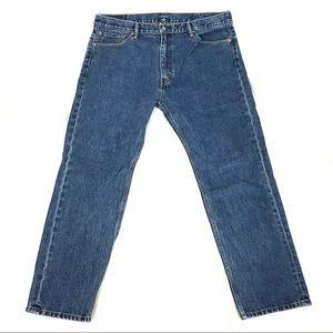 Levi's 505 straight leg jeans men's 42x32
